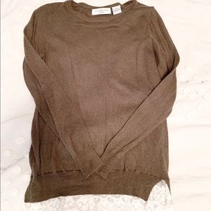 JHforPRIV olive green lace top